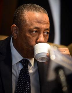 لفت الثني إلى أن مصر نجحت في منع دعم بعض الدول للإرهابيين في ليبيا (أ ف ب)