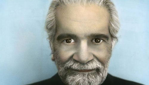 «عمر الشريف» ليوسف نبيل (ألوان على صورة أبيض واسود)
