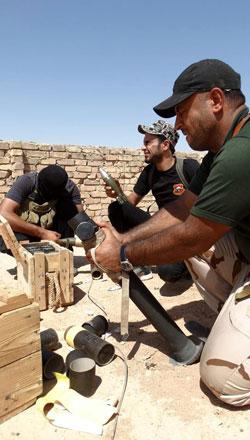 يستخدم «داعش» سياسة الإلهاء ولفت أنظار القوات الأمنية نحو هدف معين(الأناضول)