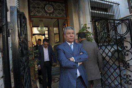 الأمين العام لـ «جبهة التحرير الوطني»، عمار سعداني (الأخبار)