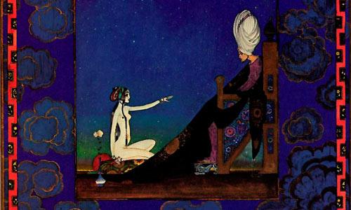 «السلطان وشهرزاد» لكاي نيلسن (تفصيل)
