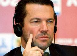 لوتار ماتيوس في المؤتمر