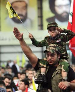 في احتفال ذكرى القادة الشهداء في حزب الله (مروان بو حيدر)