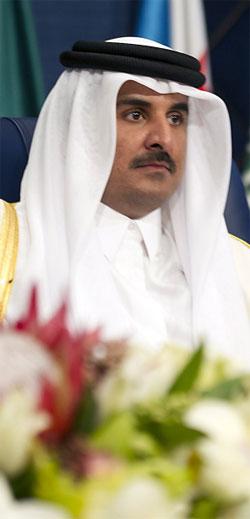 أمير قطر الشيخ تميم بن حمد آل ثاني (أ ف ب)