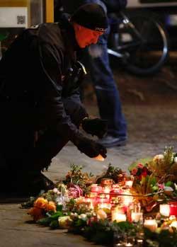 تبنى {داعش» هجوم برلين (أ ف ب)