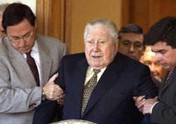 الديكتاتور التشيلي أوغست بينوشيه (أرشيف)