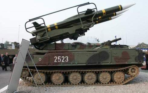 صواريخ من طراز «سام - 6»