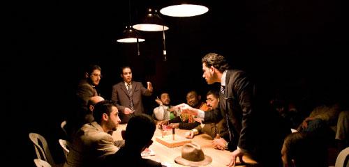 مشهد من العرض (داليا خميسي)