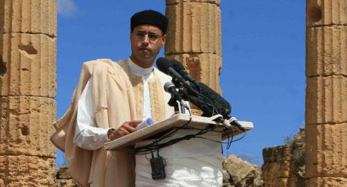 نُقل عن سيف الإسلام القذافي  قوله إن القناة فاشلة