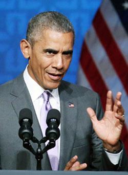 وافق أوباما على نشر 450 جندياً أميركياً إضافياً في العراق لتدريب القوات العراقية (أ ف ب)