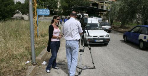 من التغطية الإعلامية لزيارة البطريرك إلى عكار