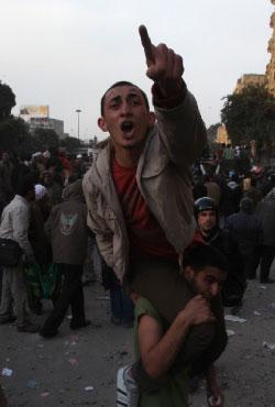 ميدان التحرير أمس (صهيب سالم ـ رويترز)
