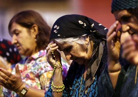مناطق المسيحيين في سهل نينوى تتعرض لتغيير ديموغرافي، وهناك من عمل على هذا الشيء (أ ف ب)