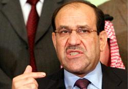رئيس الوزراء العراقي نوري المالكي (أرشيف ــ أ ب)