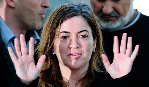 أليسيا غاميز، الرهينة الإسبانية التي أُفرج عنها في موريتانيا في العاشر من الشهر الفائت (أرشيف ــ أ ب)