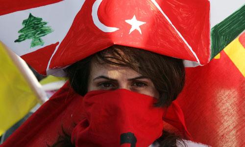 من تظاهرات التضامن مع أسطول الحرية في بيروت (هيثم الموسوي)