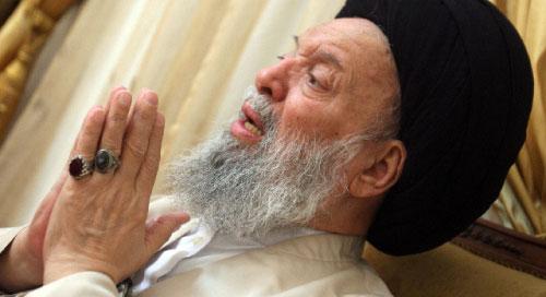 السيّد محمّد حسين فضل الله (أرشيف ــ بلال جاويش)