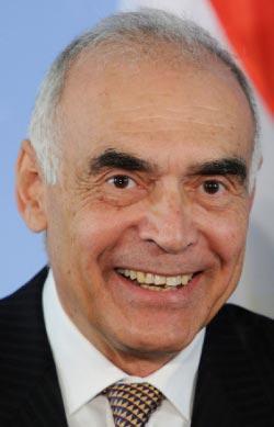 وزير الخارجية المصري  (هنيبعل هانشيك - أ ف ب)