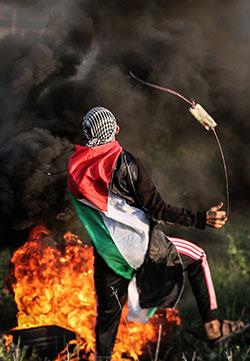 نتيجة ظروف غزة تتعاظم الدلالات التكتيكية لهذه العملية (الأناضول)