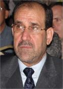 المالكي خلال احياء ذكرى 11 أيلول في بغداد (رويترز)
