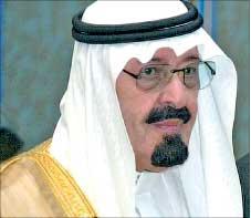 الملك عبد الله في صورة من الأرشيف (واس)
