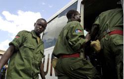 جنود من قوّات حفظ السلام في السودان (أ ب)