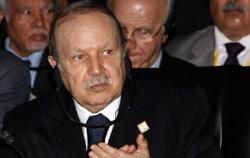 الرئيس الجزائري عبد العزيز بوتفليقة (أرشيف ــ أ ف ب)