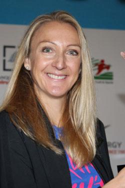 ستكون العدّاءة البريطانية السابقة بولا رادكليف ضيفة السباق (عدنان الحاج علي)