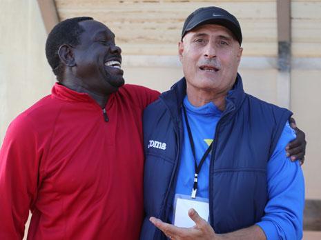 نجح مدرب الشباب الغازية اسامة الصقر في خطف نقطة من مدرب الصفاء إميل رستم
