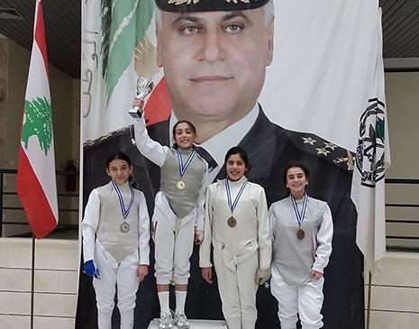 بطلات سلاح الشيش