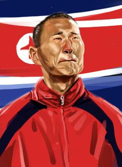 تعاني كوريا الشمالية من فرض العقوبات الدولية على الأدوات والتجهيزات الرياضية