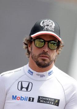 سيشارك ألونسو في سباق «إندي 500» (أ ف ب)