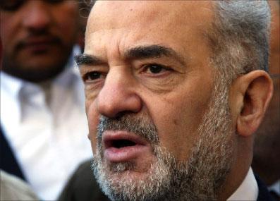 رئيس الوزراء العراقي السابق إبراهيم الجعفري (أرشيف ـ أ ف ب)