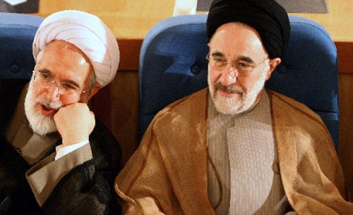 لاريجاني وأموريم في طهران أمس (محمد رضا عباس ــ أ ف ب)
