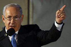 نتنياهو في القدس المحتلة أول من أمس (عمار عواد - رويترز)