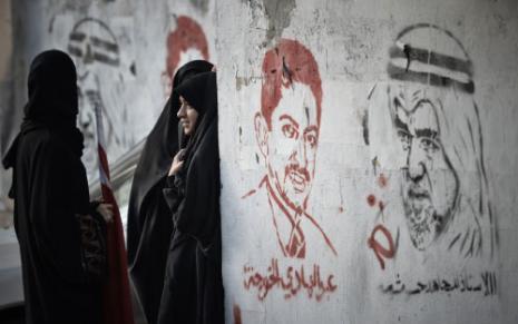 حول البحرينيون جدرانهم إلى أداة لتأريخ الثورة وتجلياتها السياسية والاجتماعية (محمد الشيخ ــ أ ف ب)