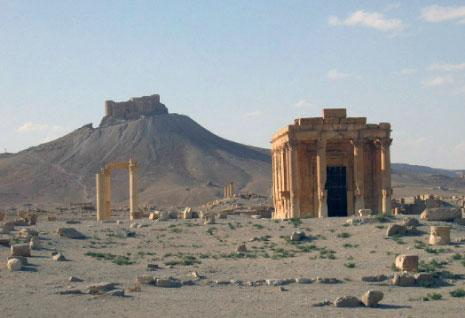 دمّر تنظيم «داعش» أوّل من أمس «معبد بعل شمين»