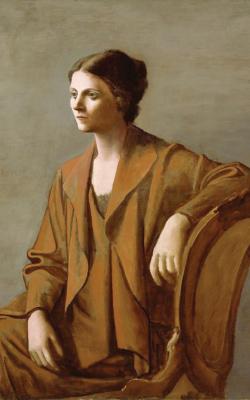 «بورتريه أولغا بيكاسو» (١٩٢٣)