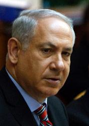 نتنياهو خلال اجتماع الحكومة الإسرائيلية أول من أمس (رونين زفزلزن ــ أ ب)
