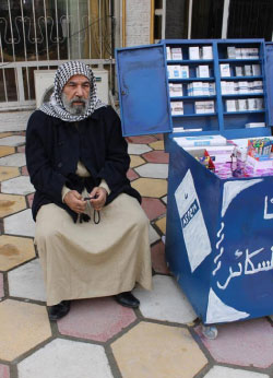 عبد الجبار الشرقاوي في مشهد من «حرائق الرماد»