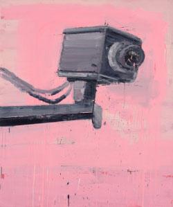 من سلسلة «آلات الرؤيا» (أكريليك على قماش ـــ 120 × 100 سنتم ـــ 2015)