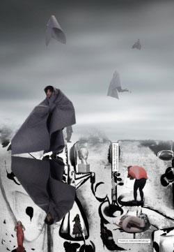 إنجي إيفينير (لقطة من فيديو تركيبي بعنوان «بويز تحت الأرض» ٢٠١٥)