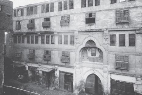 وكالة السلطان قايتباي في القاهرة (من الكتاب)