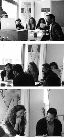 فريق الفنانين والممثلين المشاركين في المشروع