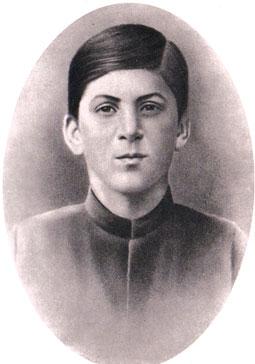 ستالين في الـ 16 من عمره