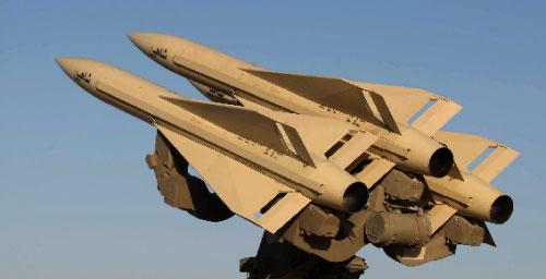 صواريخ شاهين الايرانية كما نشرتها وزارة الدفاع أول من أمس (وحيد رضا علائي ــ أ ف ب)