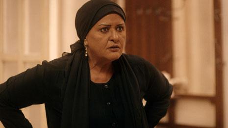 في دور «دولت» في مسلسل «موجة حارة» الذي عرض في رمضان 2013