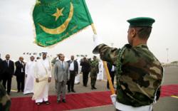 من حفل استقبال أمير قطر في نواكشوط قبل أيام (أحمد الحدج ــ أ ف ب)