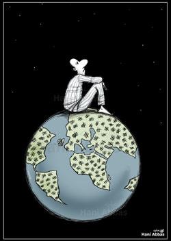 لوحة للفنان هاني عباس