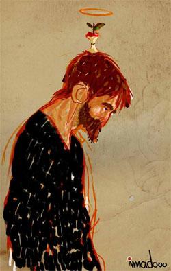 لوحة لعماد وهيبي